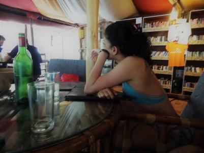 Me @Full Moon Café