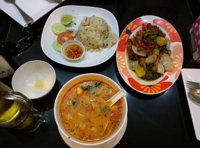 Thai curry rice