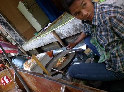Food vendor @ floating market